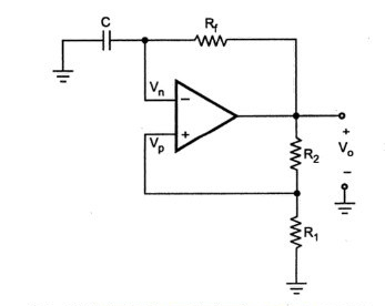 astable multivibrator using op amp \u2013 eeebooks4uthe circuit looks like a schmitt trigger except that the input voltage is replaced by a capacitor as shown in fig 6 15 the comparator and positive