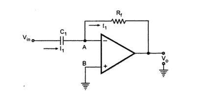 Ideal Differentiator by using Op-amp – EEEbooks4U